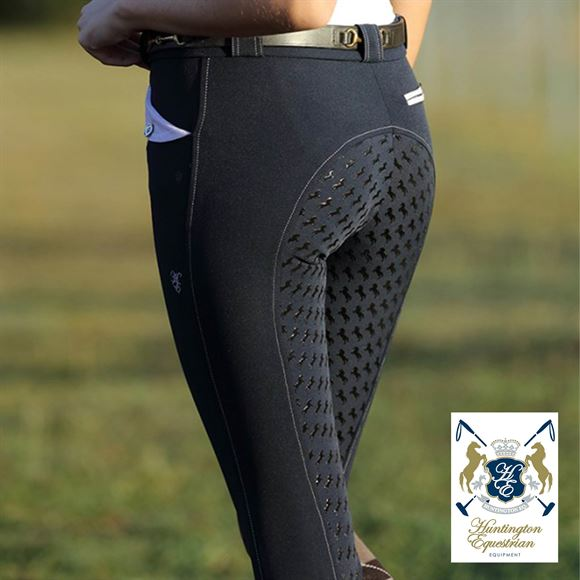 Huntington Equestrian® by Schneiders Mary Kwik Dry Full Seat Breeches