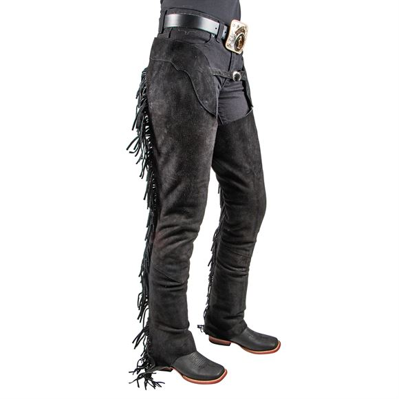 Tough 1® Suede Western Equitation Chaps