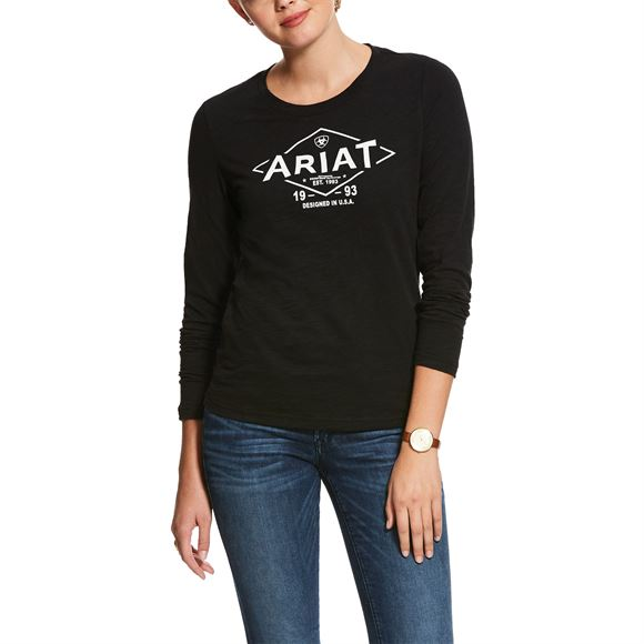Ariat® Ladies Tile Logo Tee