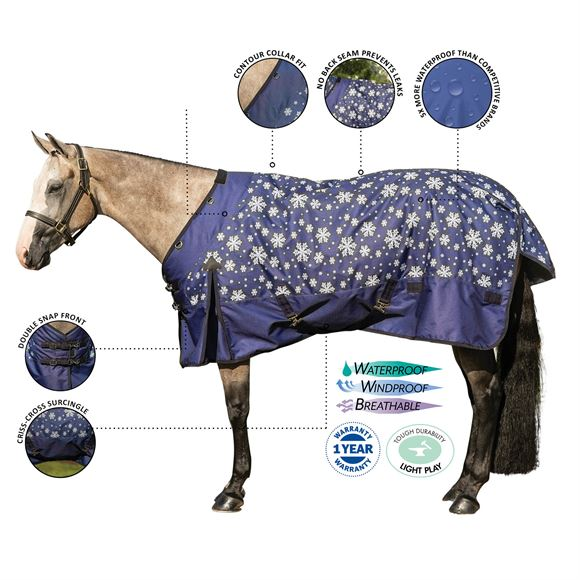 StormShield® Contour Collar Limited Edition Snowflake Midweight Turnout
