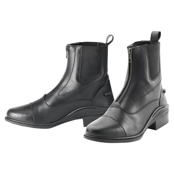 Ovation Ladies Aeros Showmaster Zip Paddock Boots