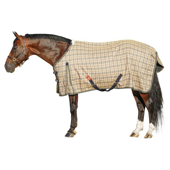 5/A Baker Original Plaid Turnout Blanket