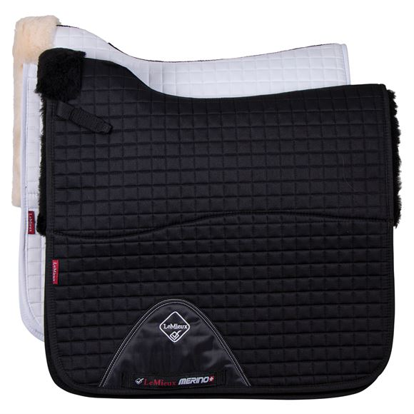 LeMieux® Merino+ Dressage Square Half Lined Saddle Pad