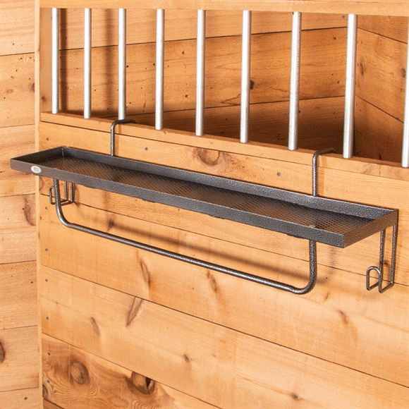 Easy-Up® Arena Shelf with Blanket Bar & Tack Hooks