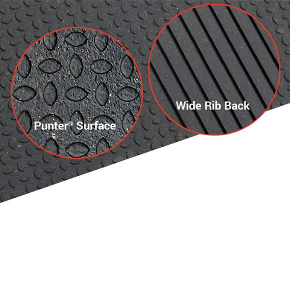 "4' X 6' X 3/4"" Thick Rubber Mat"