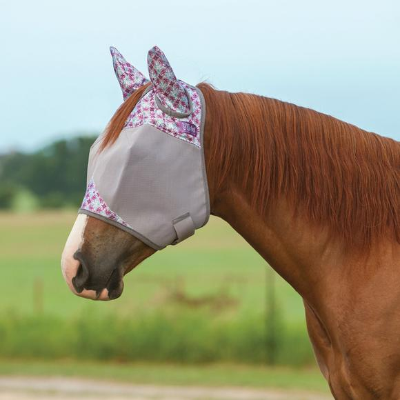 Cashel Crusader® Limited Plum Fly Mask with Ears