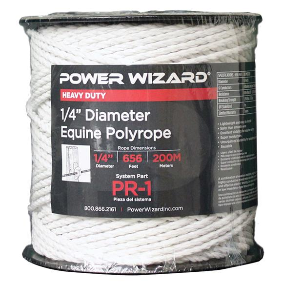 Power Wizard® HorseSafe™ Electric Braided Horse Fence 656 ft.