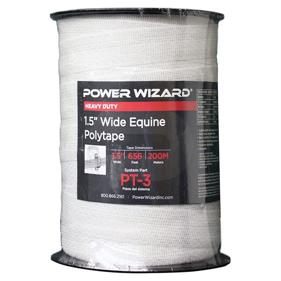 Power Wizard® HorseSafe™ Electric 1.5 Polytape Fence 656 ft.