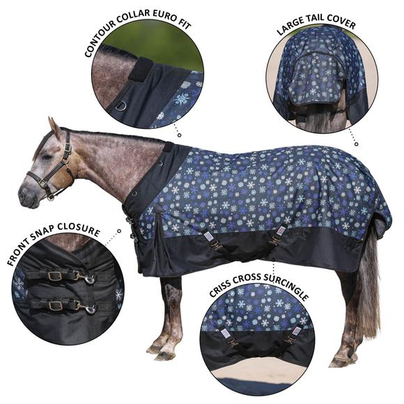 StormShield® Contour Collar 2020 Limited Edition Medium Weight Turnout Blanket