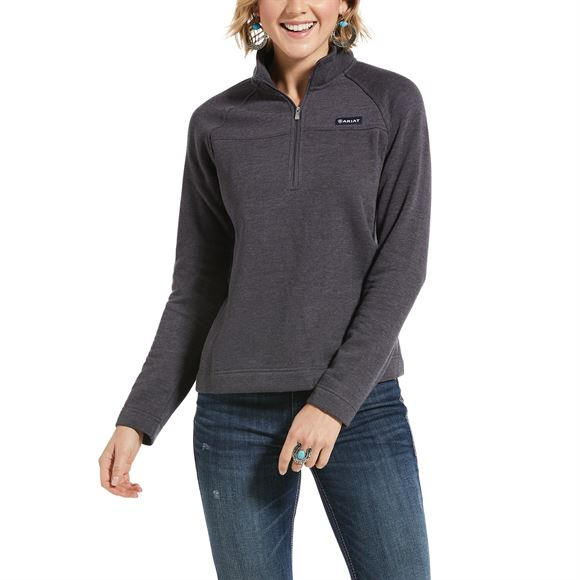 Ariat® Ladies Real Comfort 1/2 Zip Sweatshirt