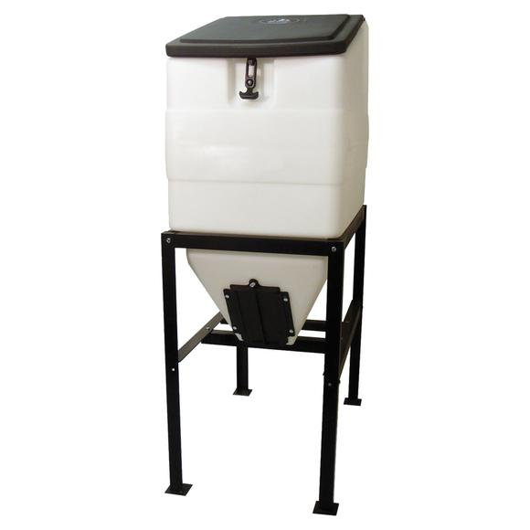 High Country Plastics Feed Bin with Stand