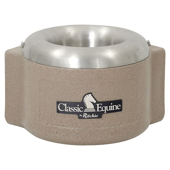 Classic Equine® By Ritchie® Single Fount Heated Stall Waterer