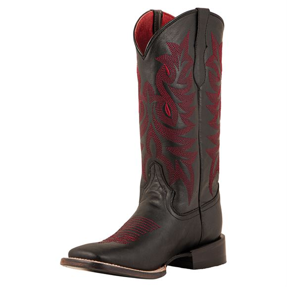 Ferrini Ladies Jane Black Western Boots