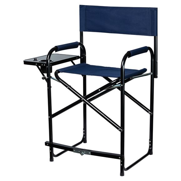 Dura-Tech® Folding Tall Chair With Table