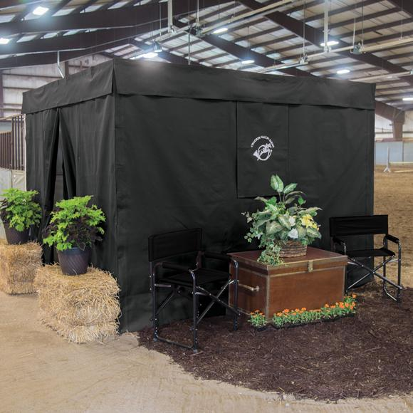 Dura-Tech® Fire Retardant Nine Piece Deluxe Stall Front Package