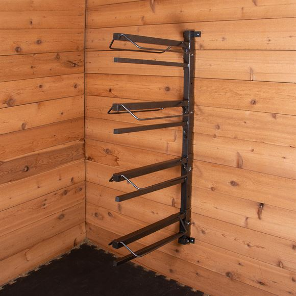 Easy-Up® Pro Series 4-Tier Saddle Rack with Pad Bars