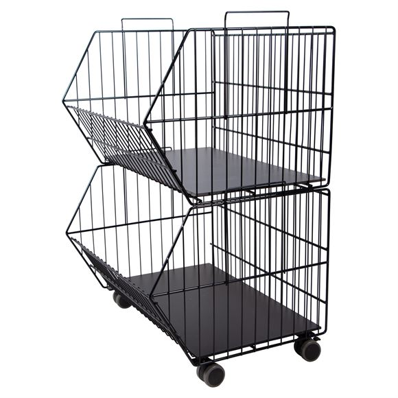 Easy-Up® 2-Tier Stackable Baskets
