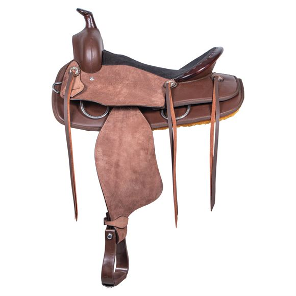 Dura-Tech® Roughout and Synthetic Western Trail Saddle