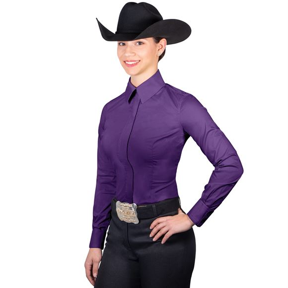 Schneiders® Cowgirl Royalty Full Zip Stretch Show Shirt