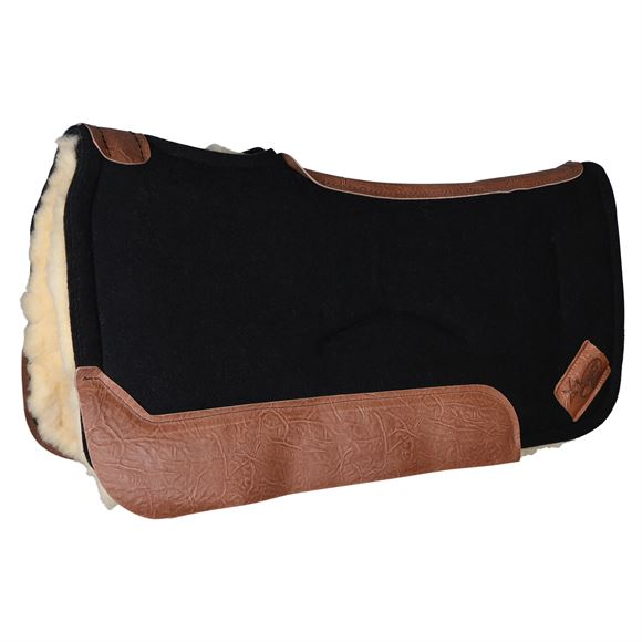 Impact Gel® XT Lite Contour Saddle Pad with Fleece Bottom