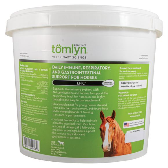 Tomlyn® Veterinary Science Epic® Daily Immune Support for Horses