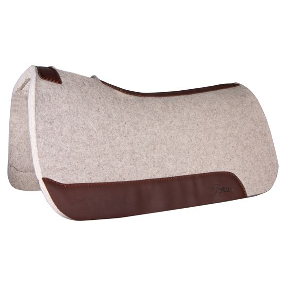 "5 Star The Rancher 1 1/8"" Thick Western Saddle Pad"