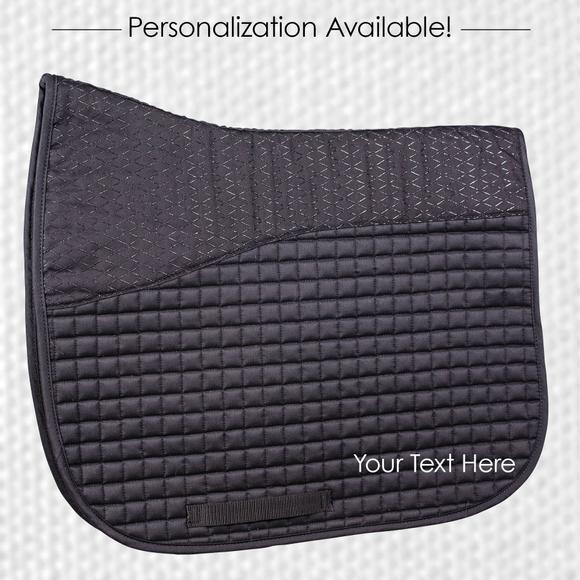English Saddle Pad Embroidery-1 Line