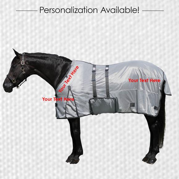 Horsewear Embroidery - Hip, Slant, Front - 1 Line