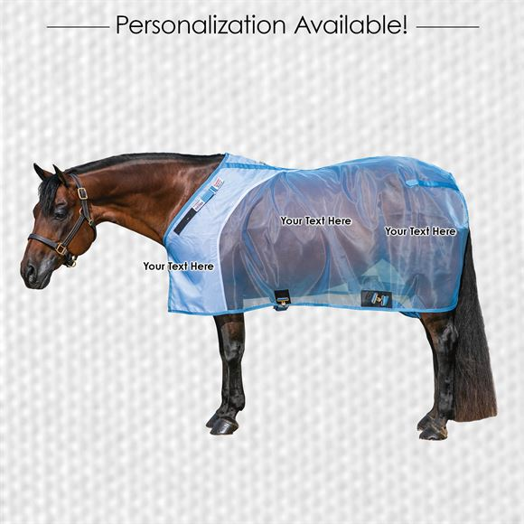 Horsewear Embroidery - Hip, Barrel, Front - 1 Line