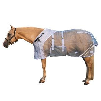 Mosquito Mesh Fitted V-Free® Bellyband Fly Sheet - Closed Frontimage