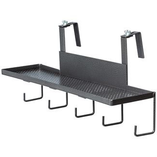 Easy-Up® Pro Series Portable Shelf with Tack Hooksimage