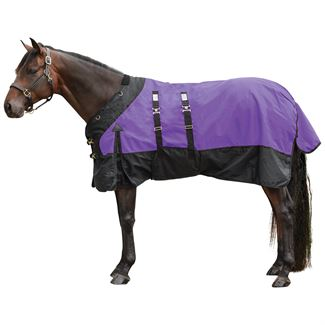 StormShield® Contour Collar Classic Bellyband Turnout Blanket - Midweightimage