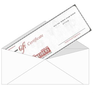 Gift Certificate (Paper)image