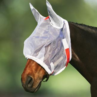 Dura-Tech® Ripstop Nylon Mesh Fly Mask with Earsimage