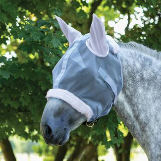 Mosquito Mesh Draft Horse Fly Mask with Earsimage