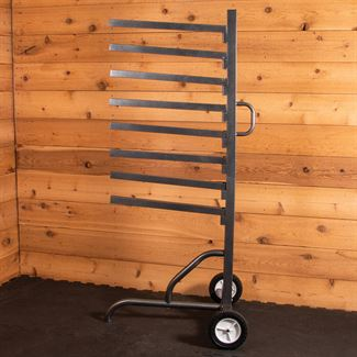 Easy-Up® Pro Series 8 Tier Pad Rack on Wheelsimage