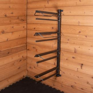 Easy-Up® Pro Series 4-Tier Saddle Rack with Pad Barsimage