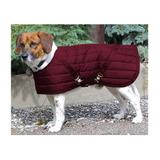 Dura-Tech® Channel Quilted Dog Coat - SM/MD, MD13258_burgundy.jpg image