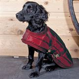 Dura-Tech® Channel Quilted Dog Coat - LG, XL13259_burgundy.jpg image