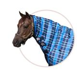 Dura-Tech® VIKING Pony Print Neck Cover Blue Plaid