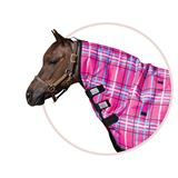 Dura-Tech® VIKING Pony Print Neck Cover Pink Plaid