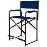 Dura-Tech® Tall Folding Director's Chair