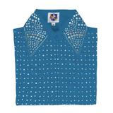 Cowgirl Royalty Ladies Sparkle Western Show Shirt II38356_turquoise.jpg image