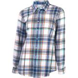 Noble Outfitters™ Ladies Downtown Flannel Shirt38363_blueprintlargeplaid.jpg image