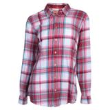 Noble Outfitters™ Ladies Downtown Flannel Shirt38363_merlotlargeplaid.jpg image