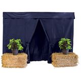 Dura-Tech® Nine Piece Deluxe Stall Front Package38448_navy.jpg image