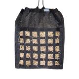 Dura-Tech® Double Sided Mesh Hay Bag with Drawstring41663_black.jpg image