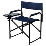 Dura-Tech® Folding Directors Chair with Table42090_navy.jpg image
