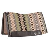 Classic Equine® Zone™ Wool Top Pad43063_charcoalsage.jpg image