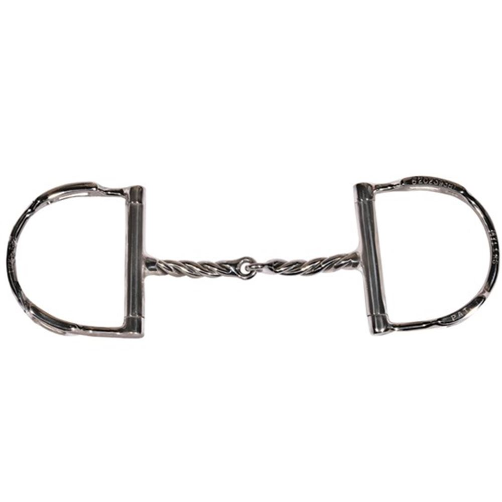 Myler Twisted D Ring Snaffle Bit